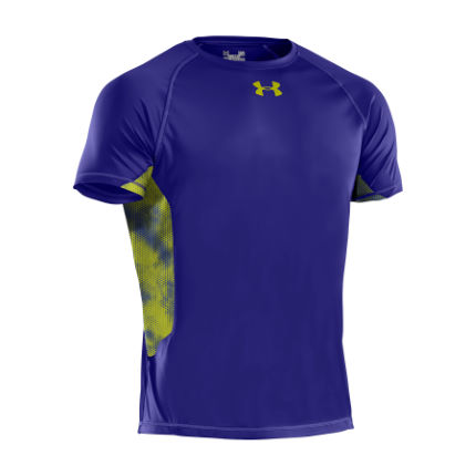 Under Armour - Heat Gear Flyweight 半袖 Tシャツ
