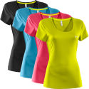 Under Armour Ladies Heat Gear Flyweight Tee