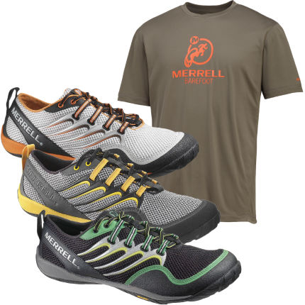 Merrell Trail Glove Shoes and Free T-Shirt