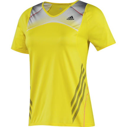 Adidas Adizero Ladies Short Sleeve Tee Shirt SS13