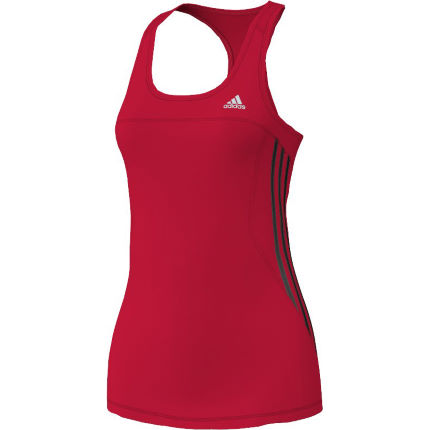 Adidas Ladies Response Fitted Tank Top