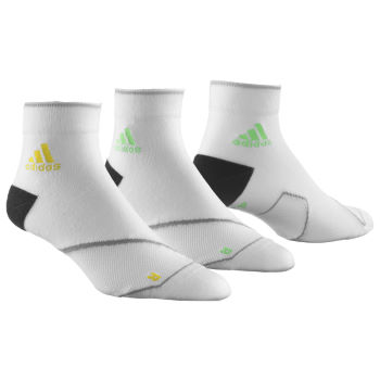 Adidas Adizero Thin Cushion Ankle Socks - 2 Pairs