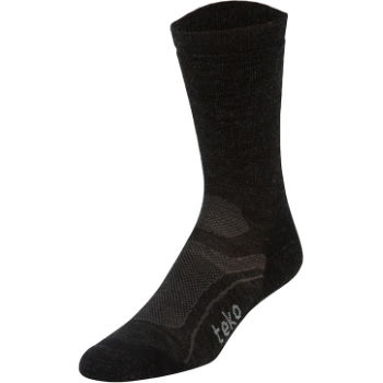 Teko Ladies Light Crew Wool Cycling Socks
