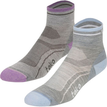 Teko Ladies Light Minicrew Wool Cycling Socks