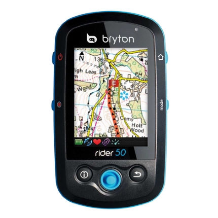 bryton Rider 50E MTB GPS with OS Maps