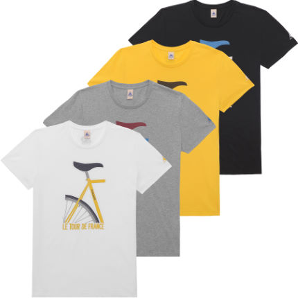 Le Coq Sportif No5 Tour De France Short Sleeve T-Shirt