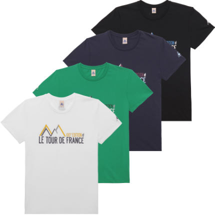 Le Coq Sportif No6 Tour De France Short Sleeve T-shirt