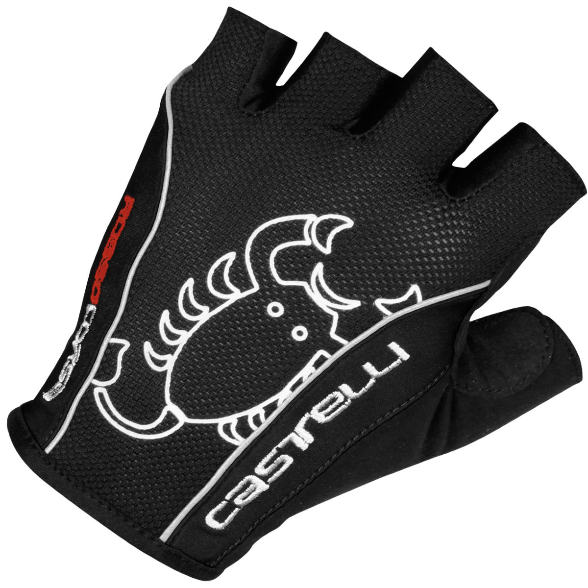Castelli Rosso Corsa Classic Gloves - Large Black