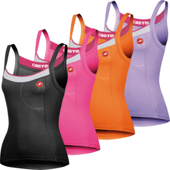 Castelli Ladies Perla Bravette Cycling Vest Top