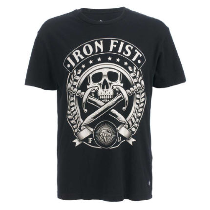 Iron Fist - Skull Society 半袖 Tシャツ