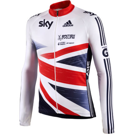Adidas - British Cycling 長袖ジャージ