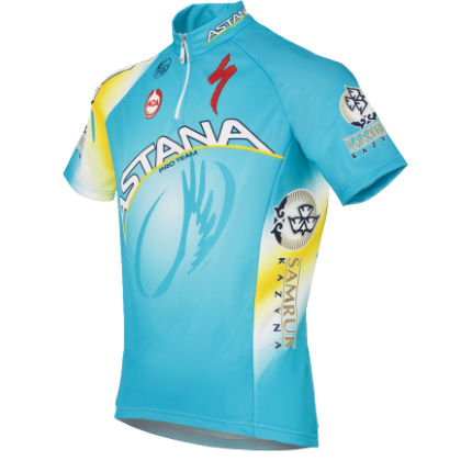Moa Astana Short Sleeve Team Jersey - 2013