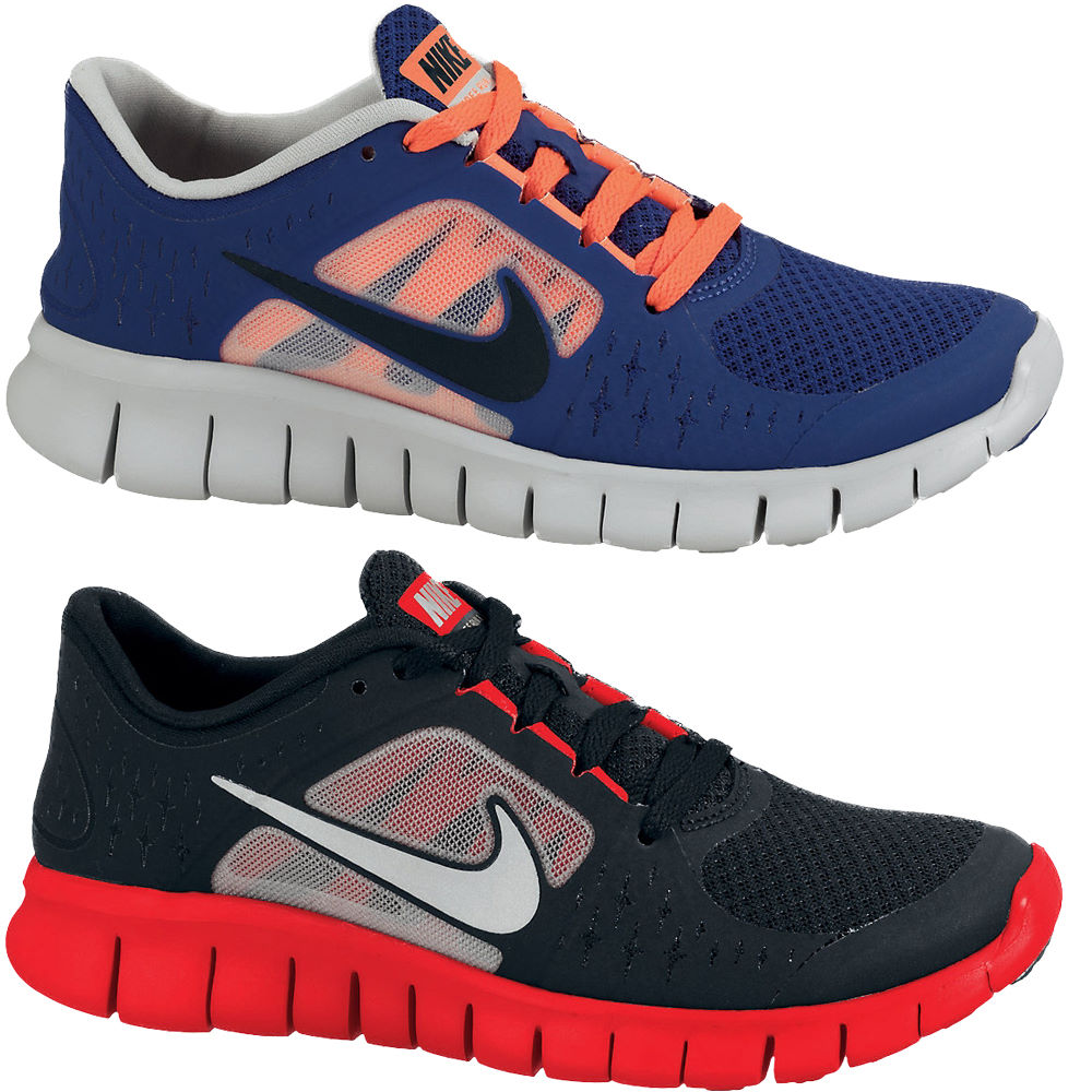 wiggle nike youth boys free run 3 shoes sp13 cushion