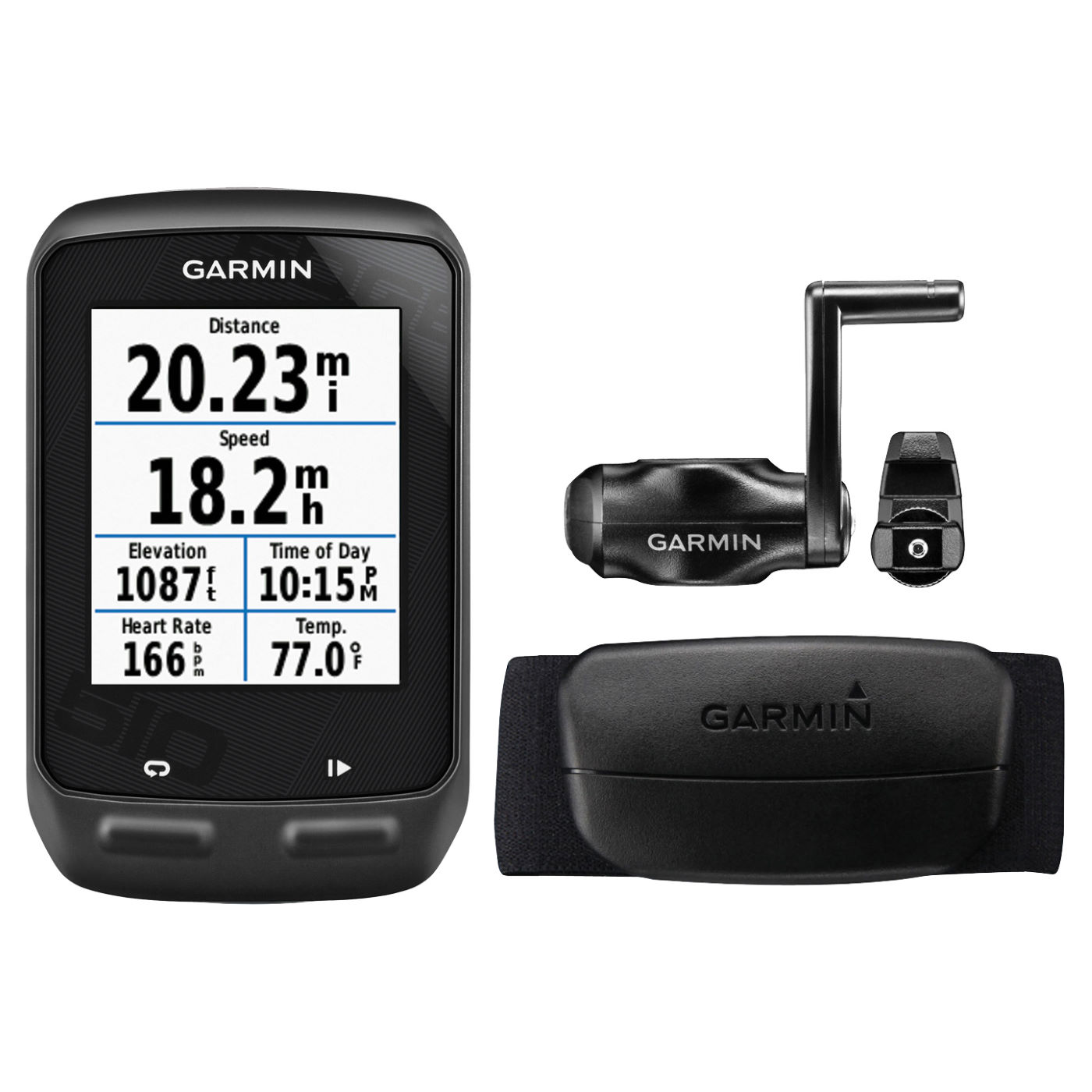 compteurs v lo gps garmin edge 510 gps cycle computer with cadence and hrm wiggle france. Black Bedroom Furniture Sets. Home Design Ideas