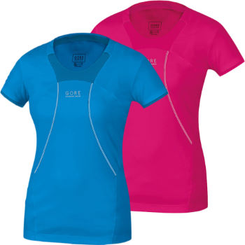 Gore Running Wear Ladies Air 2.0 Short Sleeve Shirt