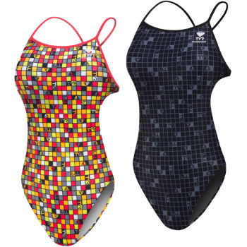 TYR Ladies Check Thin X Fit Swimsuit