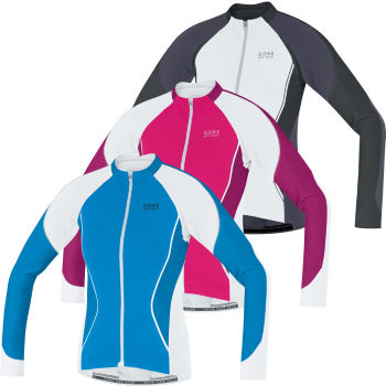 Gore Bike Wear Ladies Oxygen FZ Long Sleeve Jersey
