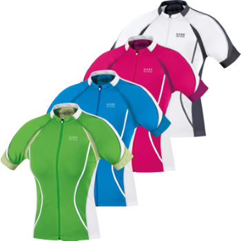Gore Bike Wear Ladies Oxygen FZ Short Sleeve Jersey