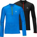 Salomon - Trail Runner 長袖 Zip Tシャツ
