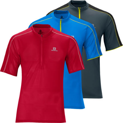 Salomon - Trail Runner Zip Tシャツ
