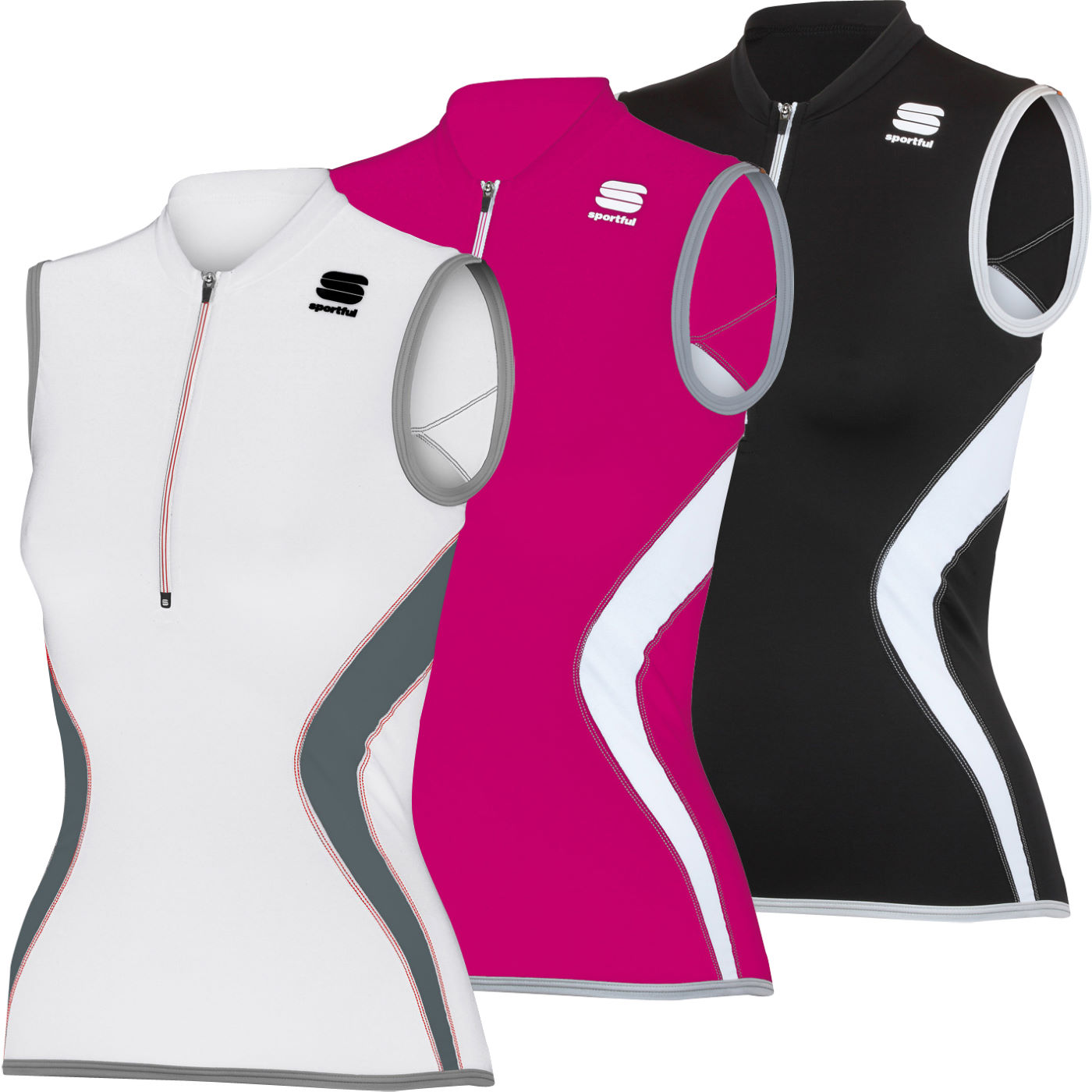 maillots manches courtes sportful ladies anakonda sleeveless jersey wiggle france. Black Bedroom Furniture Sets. Home Design Ideas