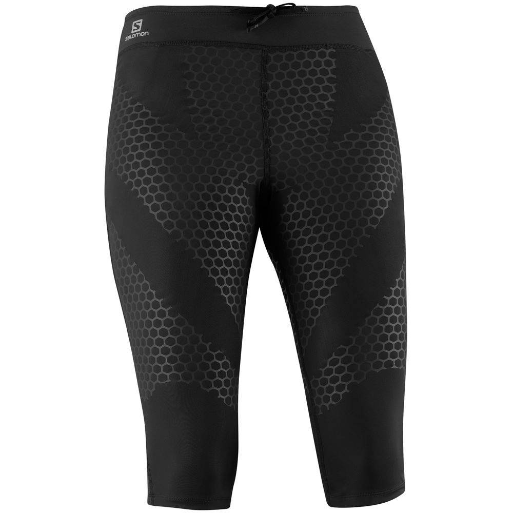 wiggle salomon women 39 s exo 3 4 tight aw14 running tights. Black Bedroom Furniture Sets. Home Design Ideas