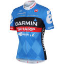 Castelli Garmin Sharp Team Full Zip Jersey