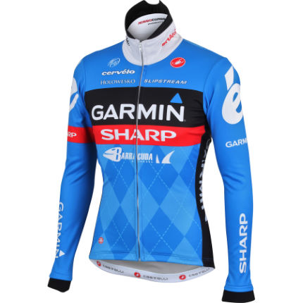 Castelli - Garmin Sharp WindStopper ウインタージャケット