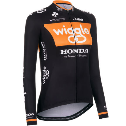dhb Women's Team Wiggle Honda Long Sleeve Jersey