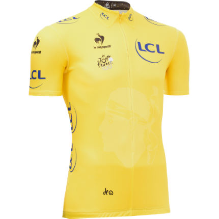 Le Coq Sportif Tour de France Leaders Yellow Jersey 2013