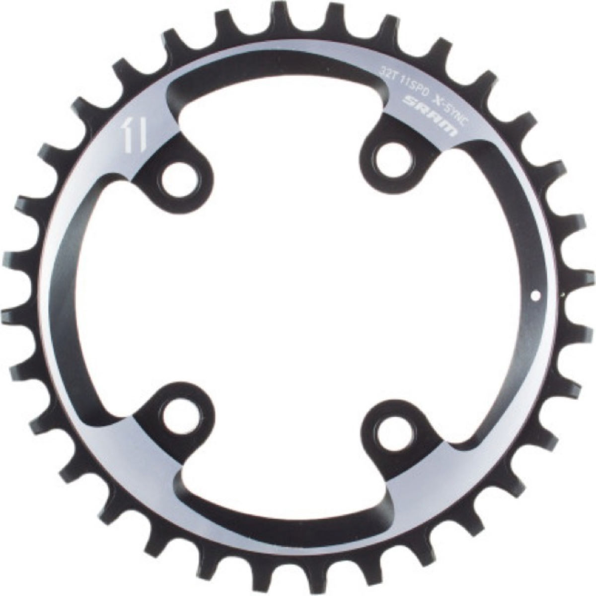 Plateau SRAM XX1 11 vitesses 34 dents - 11 Speed, 34T Artic Grey