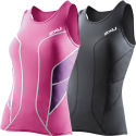 2XU Ladies Long Distance Tri Singlet