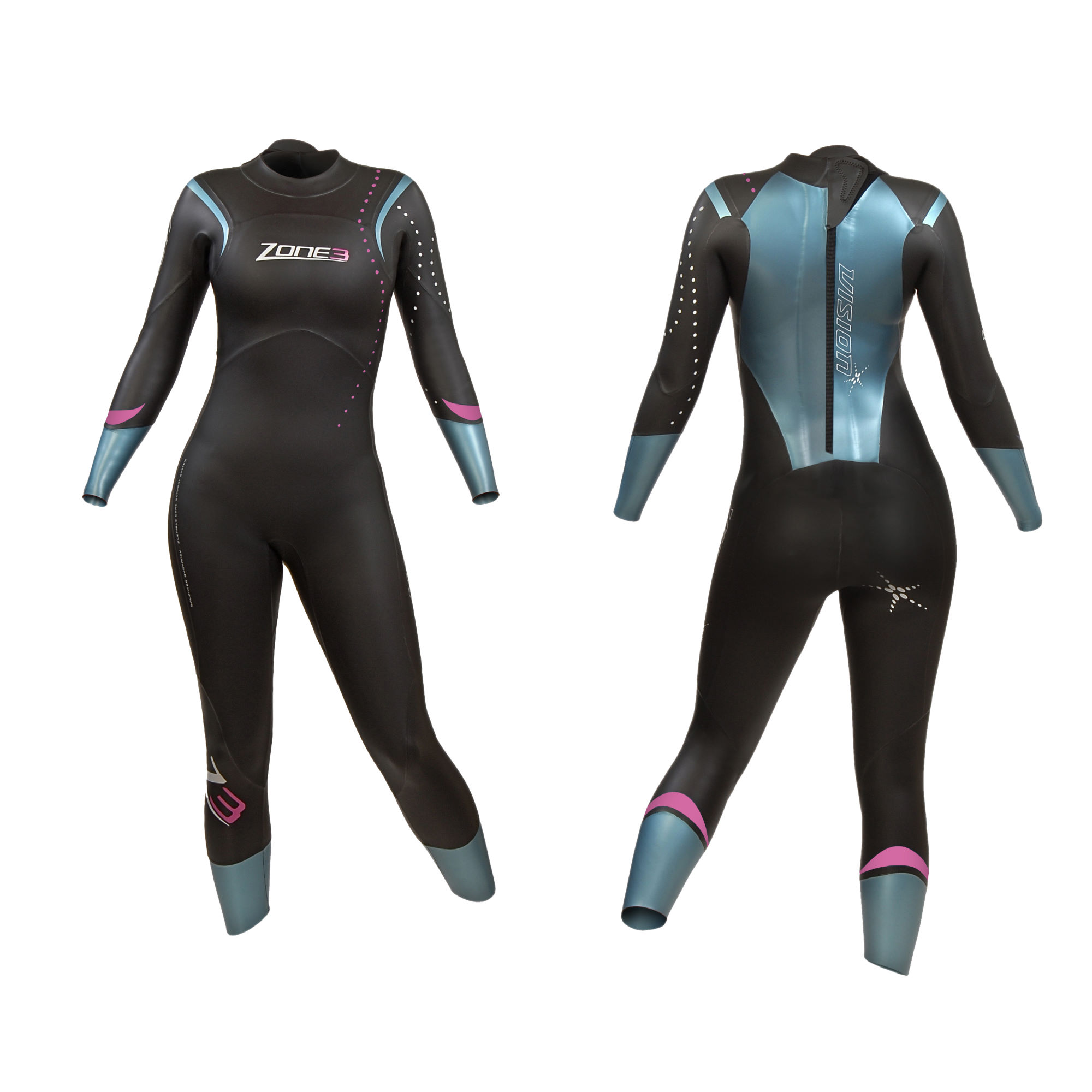 Wiggle | Zone3 Ladies Vision Wetsuit - AW13 | Wetsuits