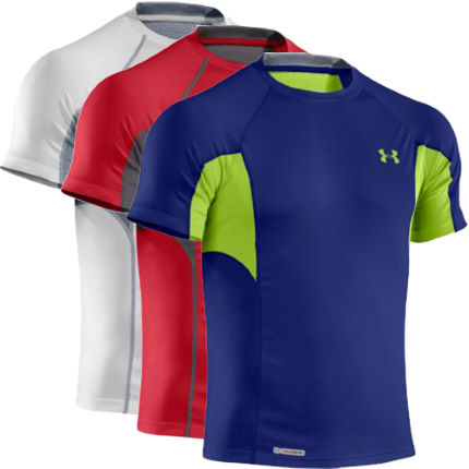 Under Armour - Heatgear Flyweight Fitted 半袖Tシャツ