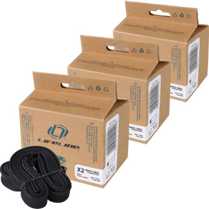 LifeLine Essential MTB Wide Inner Tubes - 6 Pack