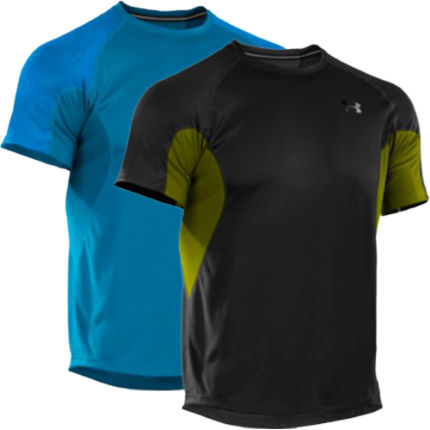 Under Armour - Coldblack Run 半袖Tシャツ
