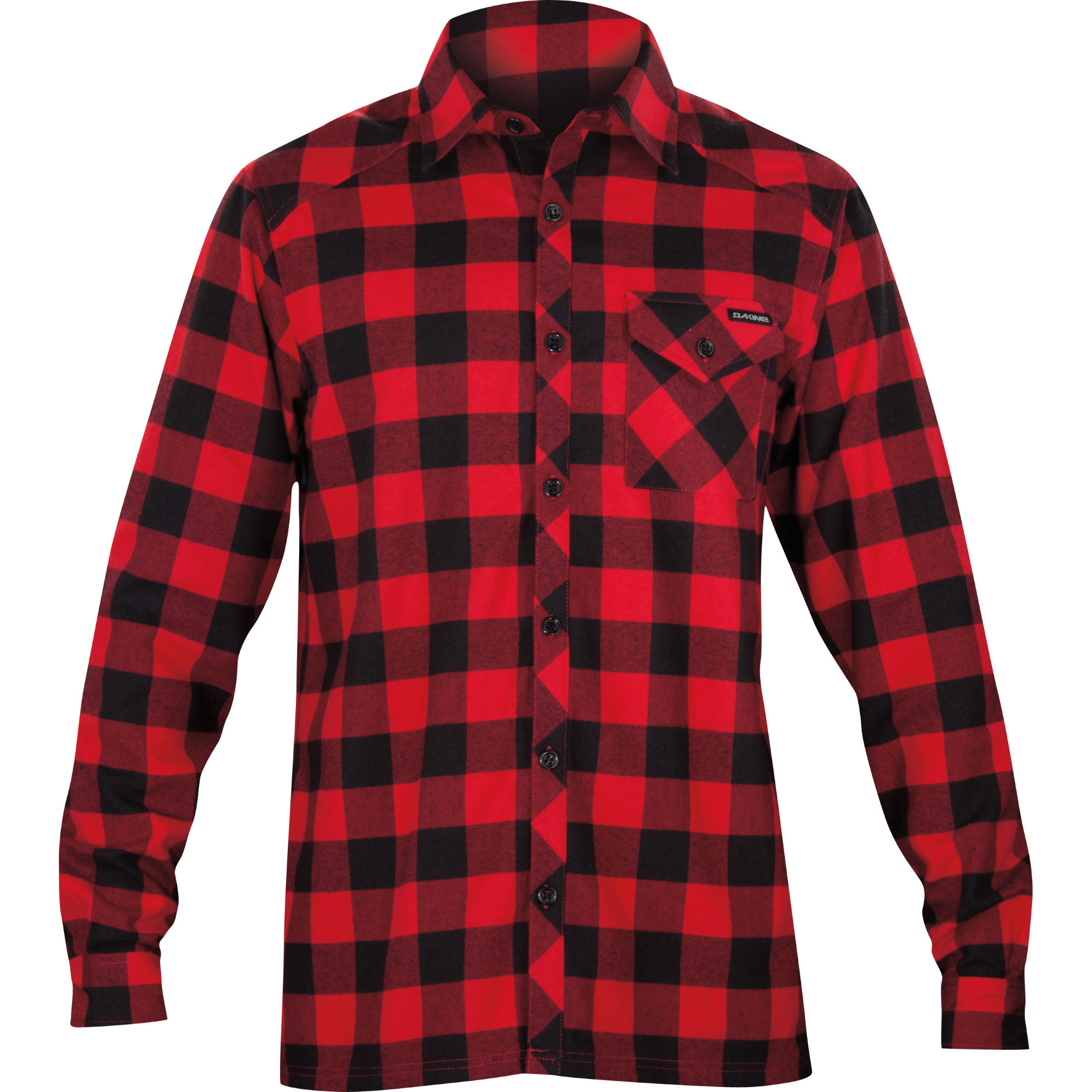 Wiggle dakine oakridge flannel shirt t shirts for What are flannel shirts made of