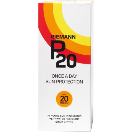 Protector solar P20 Once A Day FPS20 (200 ml)