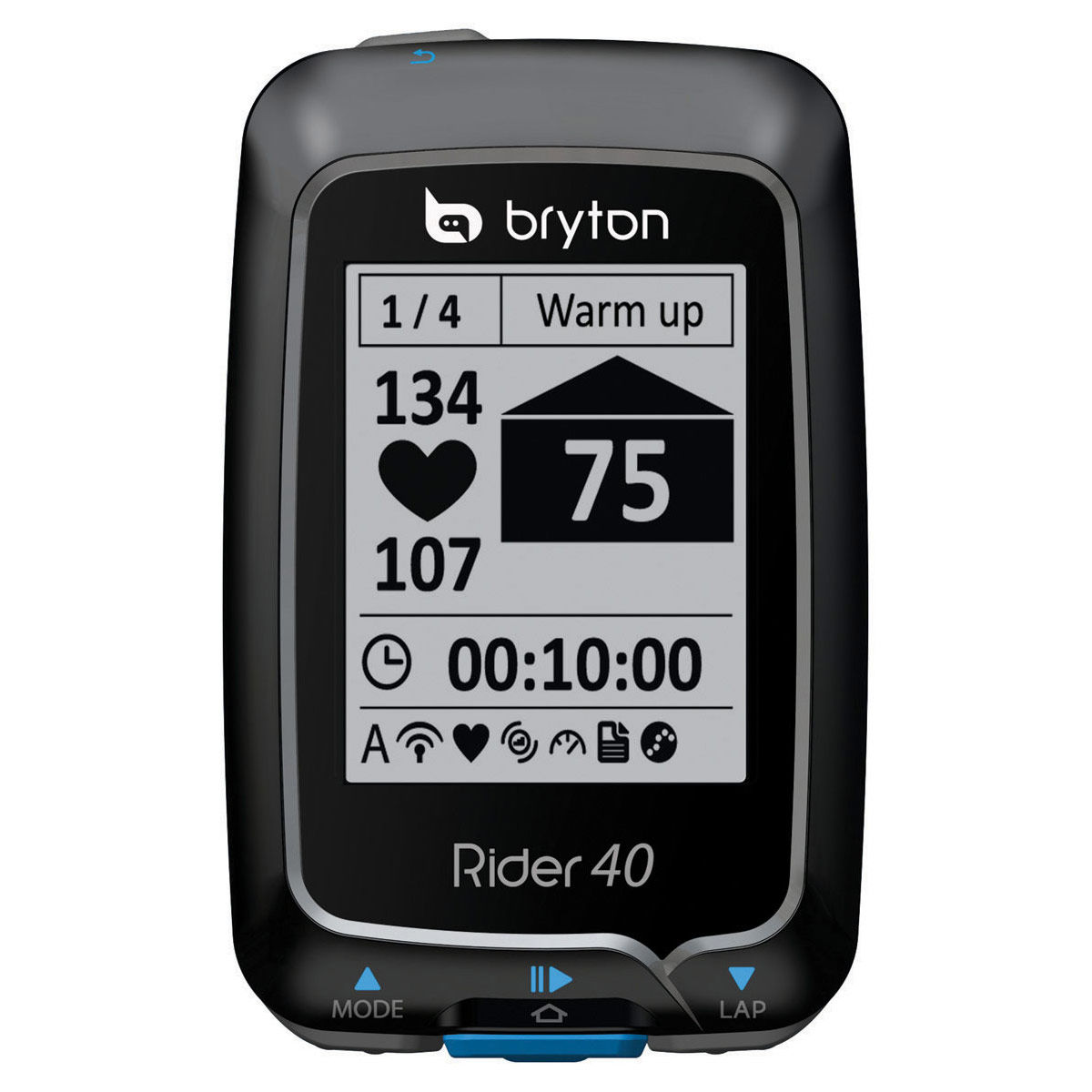 bryton rider 40 e gps radcomputer fahrradcomputer gps. Black Bedroom Furniture Sets. Home Design Ideas