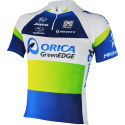Santini Orica GreenEDGE Short Sleeve Jersey - 2013