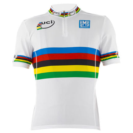 Santini - Kids UCI World Champion Road 半袖ジャージ
