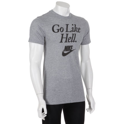 Nike - RU Flocked Running Sucks Tシャツ
