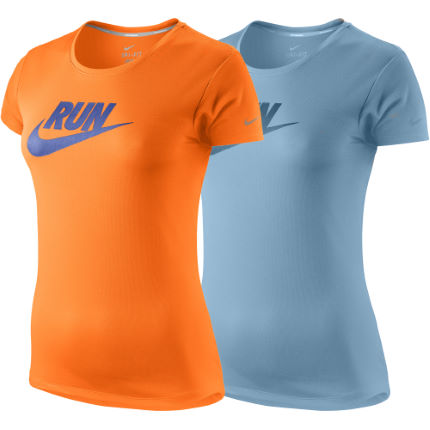 Nike - レディース Legend C-NK Run Swoosh Tシャツ
