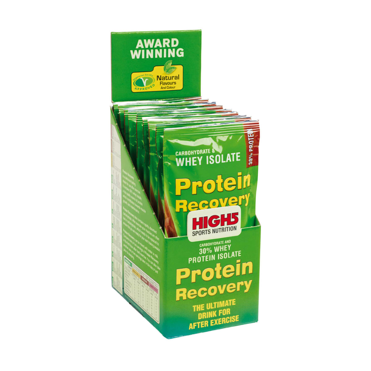 High5 Protein Recovery - 9 x 60g Sachets