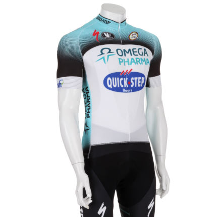 Vermarc - Omega Pharma Quick Step Forma Red カーボンジャージ