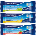 Multipower - MultiCarbo Energy Plus フルーツバー - 24本 x 50g