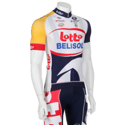 Vermarc Lotto Belisol Forma Red Carbon Jersey