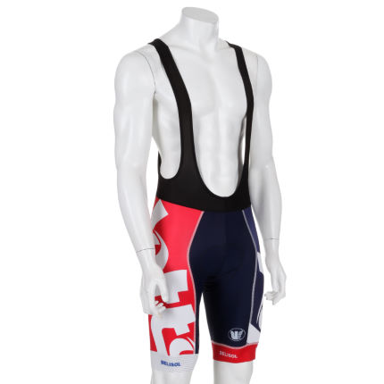 Vermarc - Lotto Belisol Forma Red カーボンビブショーツ
