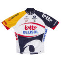 Vermarc Lotto Belisol Kids Short Sleeve Jersey - 2013