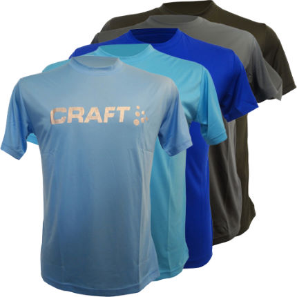 Craft - Active Run Logo Tシャツ